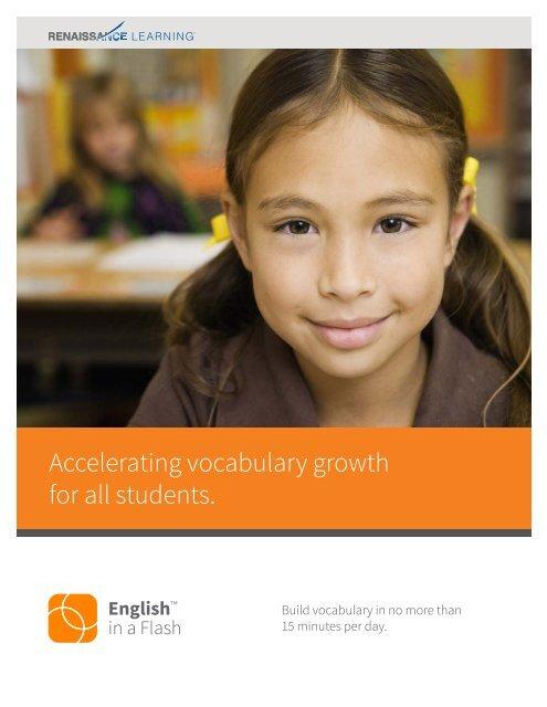 L2033 English in a Flash Gatfold Brochure.indd - Renaissance ...
