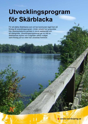 Utvecklingsprogram för Skärblacka - Norrköpings kommun