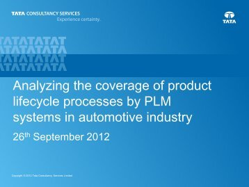 Analyzing coverage of Product - PDT Europe 2013