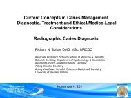 Current Concepts in Caries Management (Bohay)