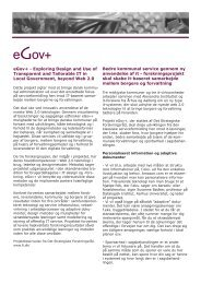 eGov+ - Exploring Design and Use of Transparent and Tailorable IT ...