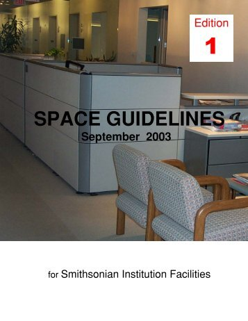 SPACE GUIDELINES - OFEO - Smithsonian Institution