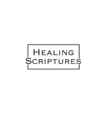 healing - Faith and Health Connection