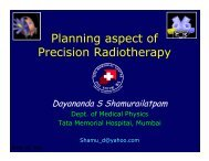 Planning aspect of Precision Radiotherapy - Aroi.org
