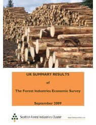 UK summary results of the September 2009 survey - ConFor
