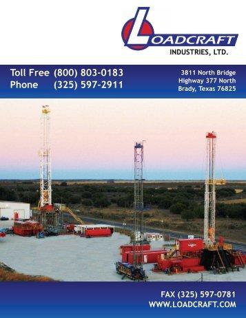 Toll Free (800) 803-0183 Phone (325) 597-2911