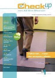 Check-up - maart 2012 - AZ Sint-Maarten
