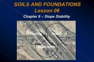 Lesson 06 - Slope Stability