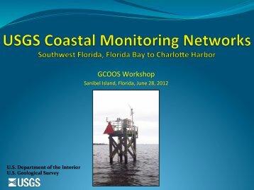 USGS Southwest Florida Coastal Monitoring Networ