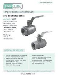 2PC Full Bore Economic Ball Valve - Temp-Press Inc