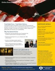 Online Executive Certificate in Global Negotiations - TAGIUNI