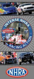 EvEnt SchEdulE - New England Dragway