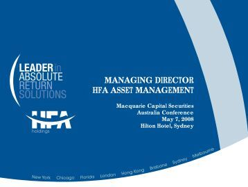 Download document - HFA Holdings Limited
