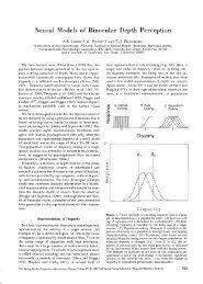 Lehky SR, Pouget A, and Sejnowski TJ - Systems Neurobiology ...