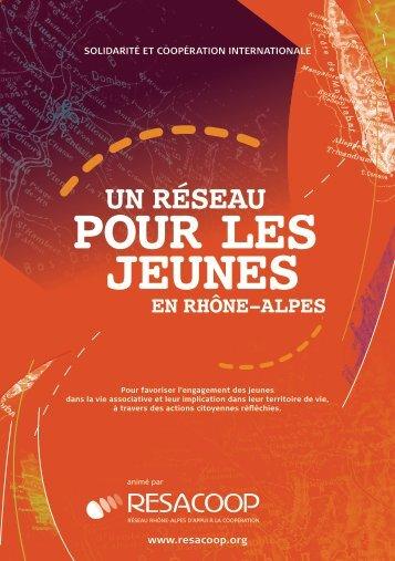 Un réseau pour les jeunes en Rhône-Alpes - Resacoop