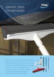 Jalador para condensado Product sheet - Vikan
