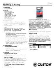 Aqua Mix® ExTreme® - Custom Building Products