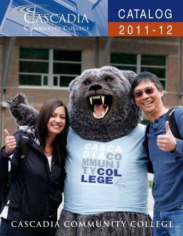 2011-12 CATALOG - Cascadia Community College