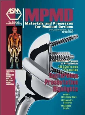 October 2007 - ASM International