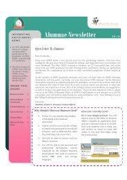 Alumnae Newsletter - Abu Dhabi Women's College - Higher ...
