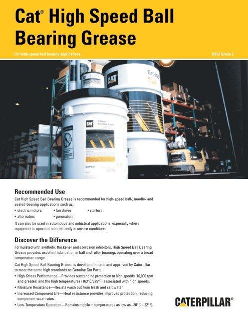 Cat® High Speed Ball Bearing Grease - Hastings Deering