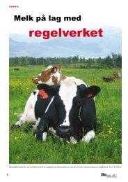 Melk på lag med regelverket - Fagbladet Økologisk Landbruk