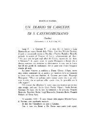 UN DIARIO DI CARCERE DI S. CASTROMEDIANO - culturaservizi.it