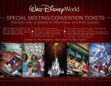 special meeting/convention tickets - The National Postal Forum