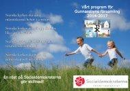 Gunnarsbyn - Socialdemokraterna
