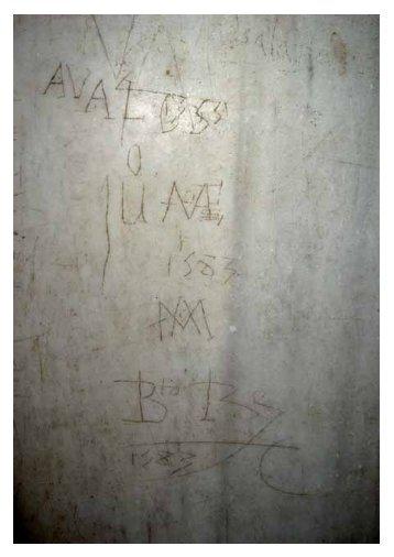 Grafitos históricos en los palacios de la Alhambra. Ideas para una ...