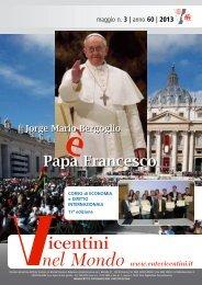 clicca qui per il n. 3 2013 - Ente Vicentini nel Mondo