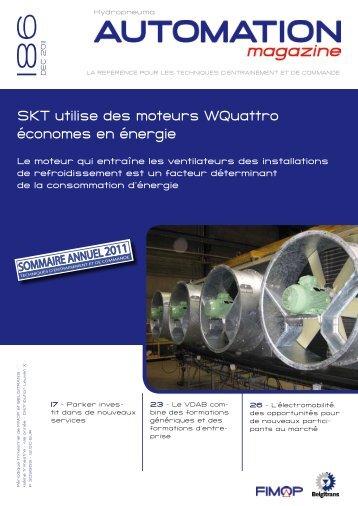SKT utilise des moteurs WQuattro économes en énergie - Fimop