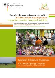 Menschen bewegen - Regionen gestalten Inspiring people - 26 ...
