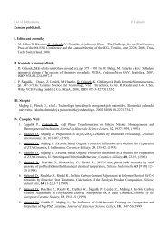 List of Publications D. Galusek Zoznam publikácií. I. Editované ... - SAV