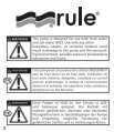 Rule Mate Instruction Manual - Seatronic - Page 2