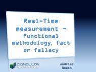 Real-Time measurement - - SAMRA