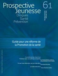Guide pour une réforme de la Promotion de la santé - Prospective ...
