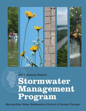 Stormwater Management Program Annual Report for 2011