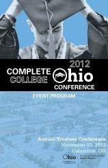 Agenda - Ohio Board of Regents