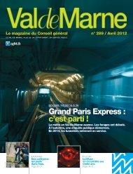 ValdeMarne n°289 / Avril 2012 - Conseil général du Val-de-Marne