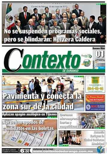 01/06/2013 - Contexto de Durango