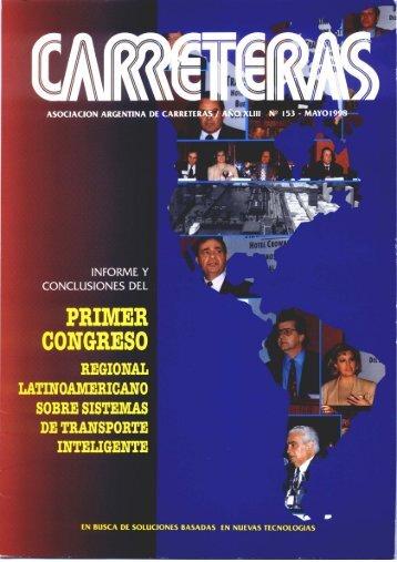 PRIMER CONGRESO - Asociación Argentina de Carreteras