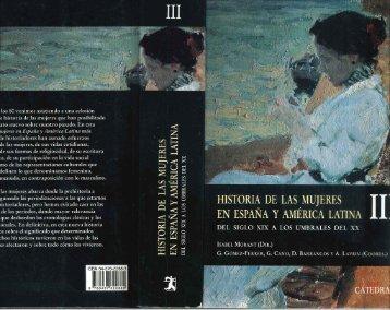 Historia de las mujeres en España y América Latina. Del siglo XIX a ...