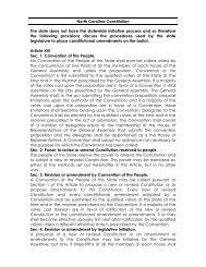 North Carolina.pdf - Initiative and Referendum Institute