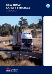 NSW Road Safety Strategy 2012-2021 - Council of Motor Clubs