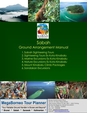Sabah Ground Arrangement Manual - Megaborneo