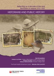 historians and public history - The Centre for Cross Border Studies