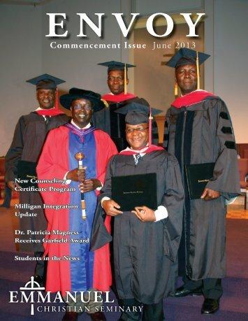 Download the full ENVOY - Emmanuel Christian Seminary