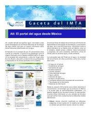 Atl: El portal del agua desde México - Instituto Mexicano de ...