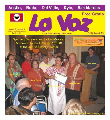 La Voz de Austin October 2010abc.pmd - La Voz Newspapers